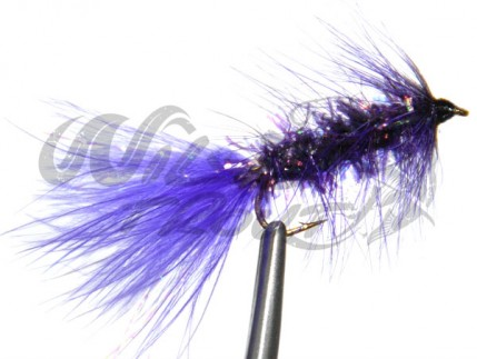Fritz Woolly Bugger Purple