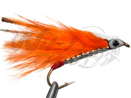 Marabou Streamer Orange