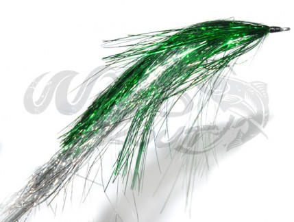 Pike Flash Bunny Green/Silver