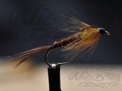 Pheasent Tail Nymph Yellow LS
