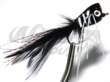 Popper Black Zebra