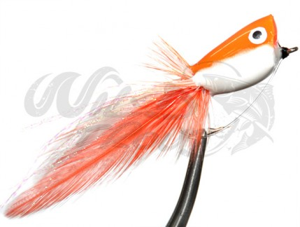 Popper Orange White