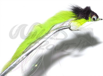 Rabbit Strip Diver Black/Chartreuse