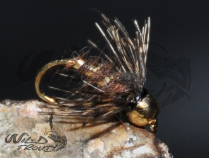 Soft Hackle BH GRHE Nymph Brown