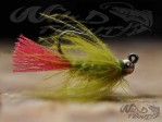 Tungsten JIG CDC Nymph Olive BL