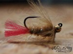 Tungsten JIG CDC Nymph Beige BL