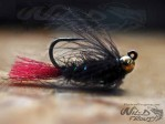 Tungsten JIG CDC Nymph Black BL