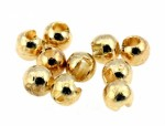 Tungsten Slotted Beads Gold