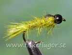 Tungsten Blackhead GRHE Nymph Olive